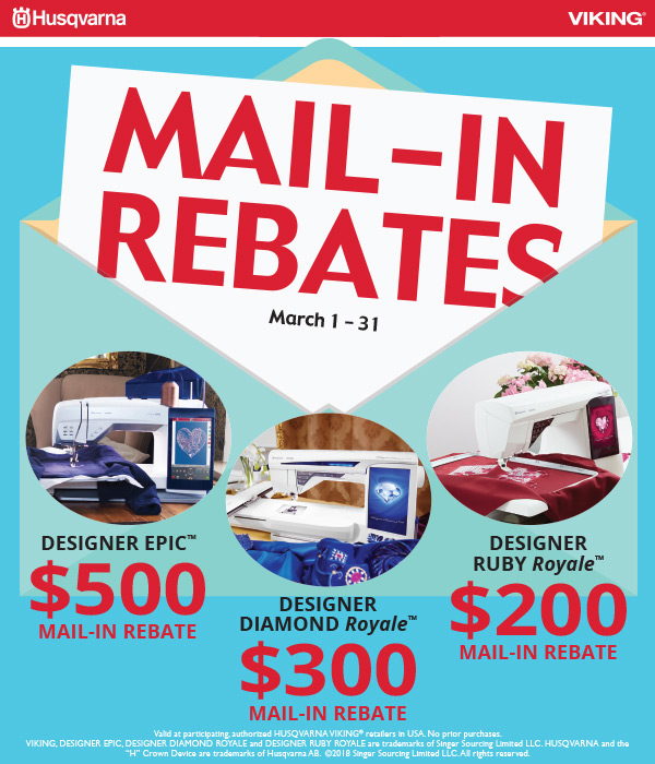 March 2018 - Mail-in Rebates