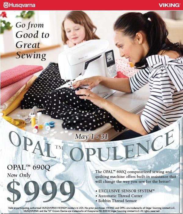 May 2018 - OPAL Opulence