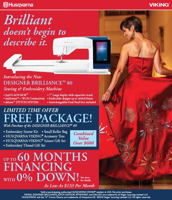 October 2018 - Designer Brilliance 80 Launch Promo